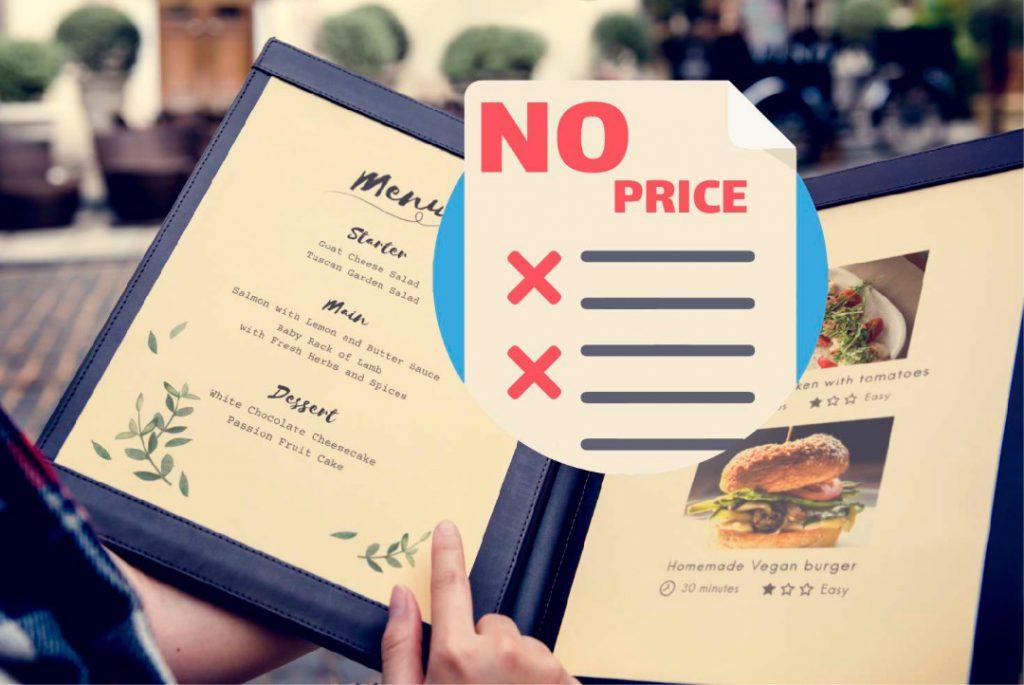 تخلف عدم ارائه فهرست قیمت